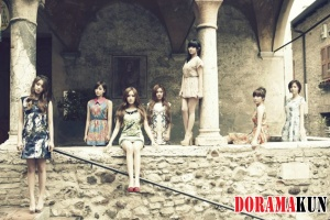 T-Ara для Free Time In Paris PHOTOBOOK