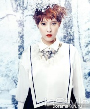 Hyomin (T-ARA) для InStyle January 2013