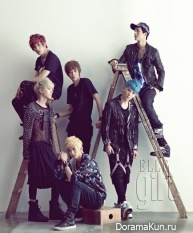Teen Top для Elle Girl Korea September 2012