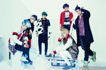 Teen Top для Teen Vogue September 2012