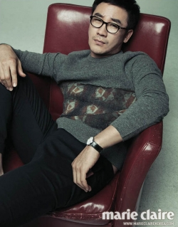 Uhm Tae Woong для Marie Claire Korea 2012