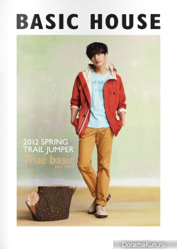 Won Bin для Basic House Spring Catalog 2012
