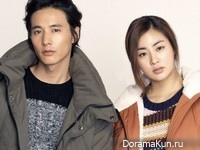 Won Bin, Kang So Ra для Basic House Winter 2012 Ads