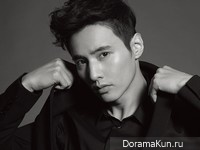 Won Bin для Harper's Bazaar Man March 2013
