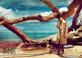 Won Bin для L'Officiel Hommes April 2012