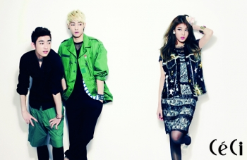 Wonder Girls' Yubin, JJ Project для CéCi July 2012