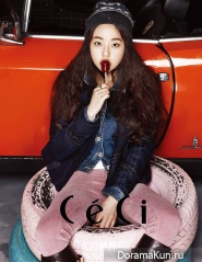 Wonder Girls' Sohee для Ceci November 2012