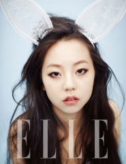 Wonder Girls' Sohee для Elle Korea July 2012