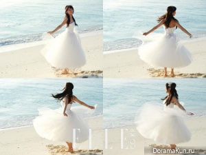 Sunye (Wonder Girls) для Elle March 2013