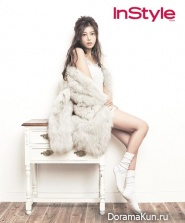 Wonder Girls (Yubin) для InStyle Korea November 2013