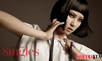 Wonder Girls' Yenny для Singles August 2012