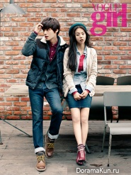 Wonder Girls' Sohee для Vogue Girl October 2012