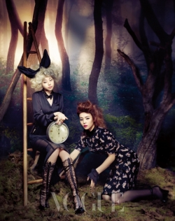 Wonder Girls для Vogue Korea December 2011