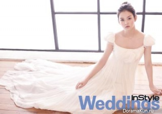 Woo Ri для InStyle Weddings December 2012