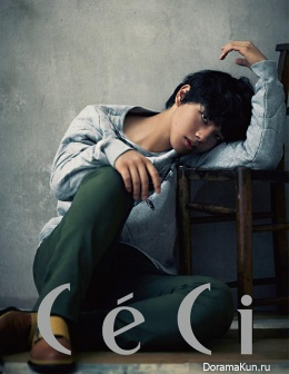 Yeo Jin Goo для CeCi Korea November 2013