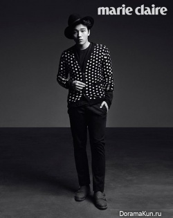 Yeo Jin Goo для Marie Calire Korea October 2013