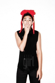 Yoo Ah In для Elle Girl September 2010