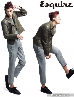 Yoo Ah In для Esquire Korea April 2012