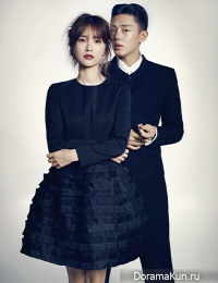 Yoo Ah In, Jung Yumi для Harper's Bazaar October 2013 Extra