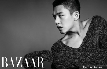 Yoo Ah In для Harper's Bazaar September 2012