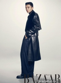 Yoo Ah In, Jung Yumi для Harper's Bazaar October 2013