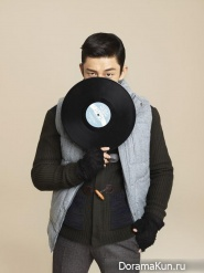 Yoo Ah In для The Class Winter 2013