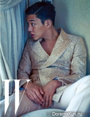 Yoo Ah In для W Korea July 2014