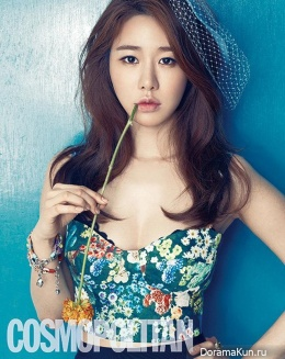Yoo In Na для Cosmopolitan Korea May 2013