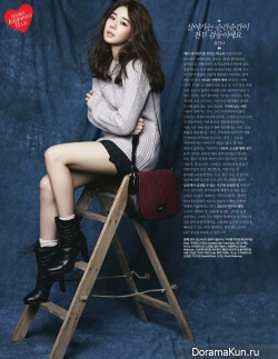 Yoo In Na и др. для Elle Korea December 2013