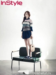 Yoo In Na для InStyle April 2013