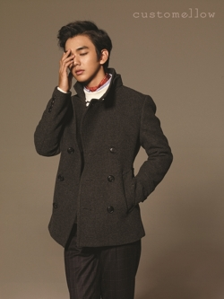 Yoo Seung Ho для Customellow Winter 2011 Catalogue