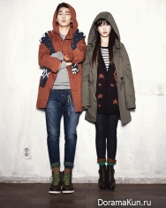 Yoo Seung Ho, IU для G by Guess F/W 2012 Ads