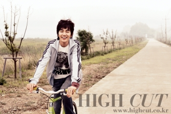 Yoo Seung Ho для High Cut Vol. 35
