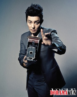 Lee Beom Soo и др. для Vogue Korea August 2012