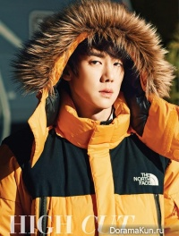 Yoo Yeon Seok для High Cut Vol. 116