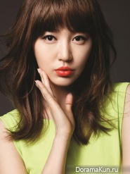 Yoon Eun Hye для MAC Orange Lipstick