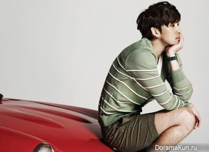 Yoon Kye Sang для BASSO homme Catalogue 2012