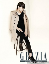 Yoon Sang Hyun для Grazia Korea September 2013