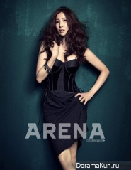 Yoon Se Ah для Arena Homme Plus January 2013
