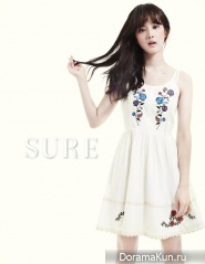 Yoon Seung Ah для SURE Korea August 2013