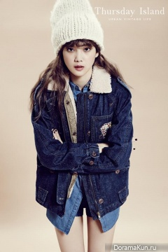 Yoon Seung Ah для Thursday Island F/W 2013 Ads
