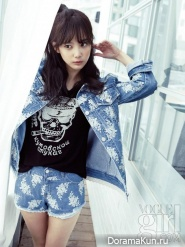Yoon Seung Ah для Vogue Girl March 2013