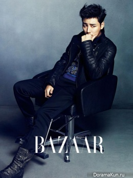 Yoon Si Yoon для Harper's Bazaar Korea December 2013