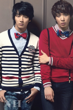 CN Blue, Yoon Si Yoon для NII Fall 2010 Catalogue