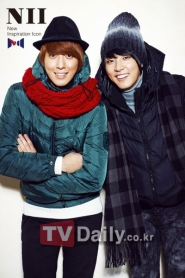 CN Blue, Yoon Si Yoon для NII Winter 2010 Catalogue