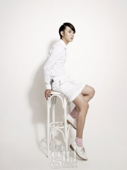 Yoon Si Yoon для Vogue Girl Korea June 2011