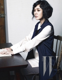 Yun Jin Kim для W Korea April 2012