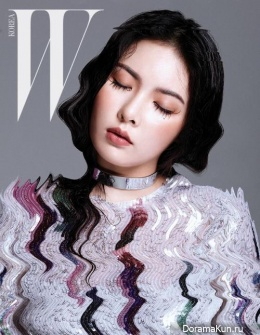 4Minute (Hyuna) для W Korea March 2016