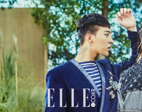Big Bang (G-Dragon) для Elle March 2016