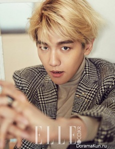 EXO (Baekhyun) для Elle Korea November 2015 Extra